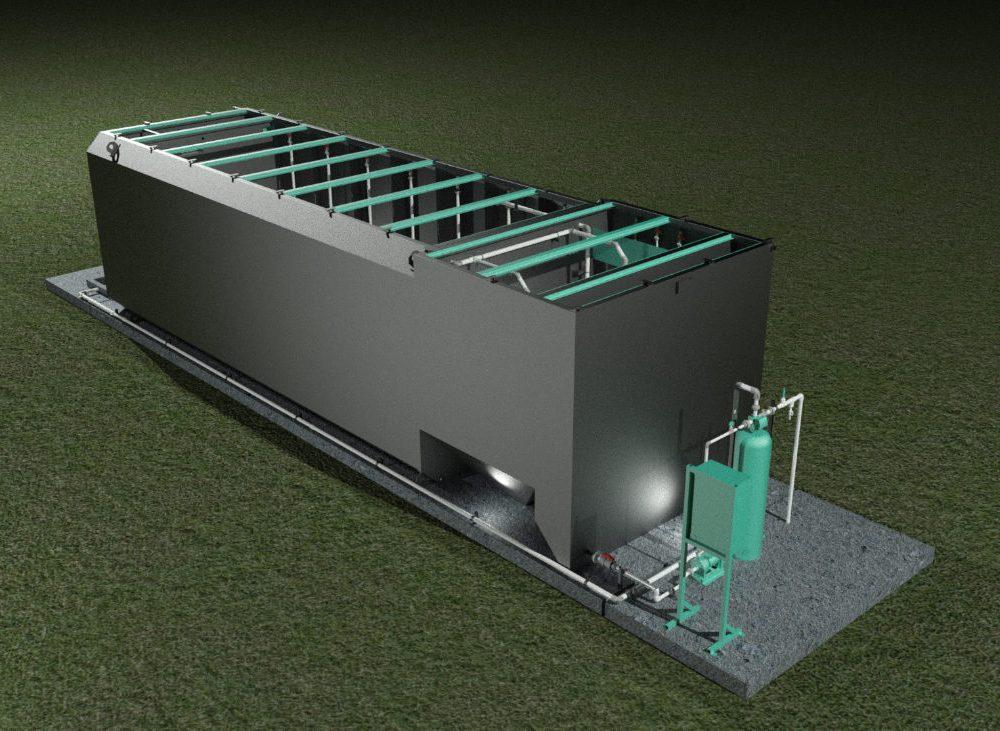 Planta de tratamiento de aguas residuales Lawsco